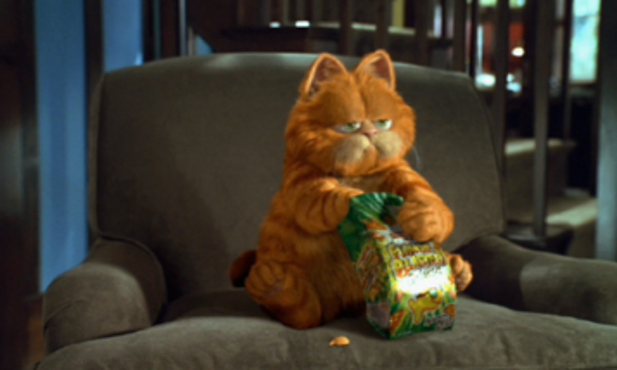 Garfield The Movie Plugged In