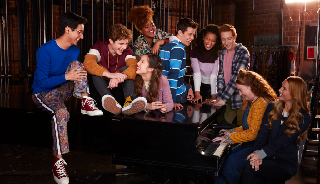Cast of High School Musical the Musical The Series