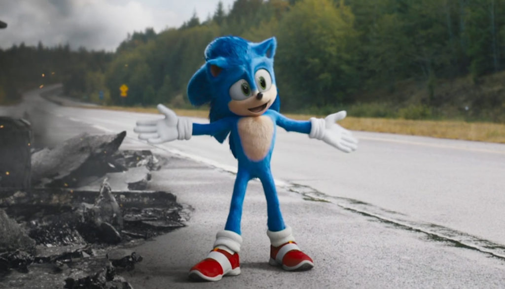 Sonic The Hedgehog Plugged In