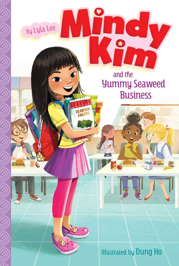 Mindy Kim and the Yummy Seaweed Business cover