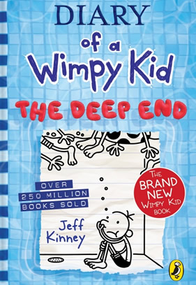 Cover for the book Diary of a Wimpy Kid