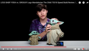 Screen shot of The Kid and Groggu from EvanTubeHD's YouTube Channel.