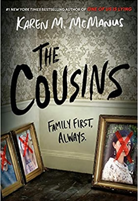 Book cover image of the book The Cousins.