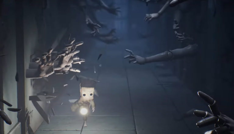 "Screen shot from the game ""Little Nightmares II."""