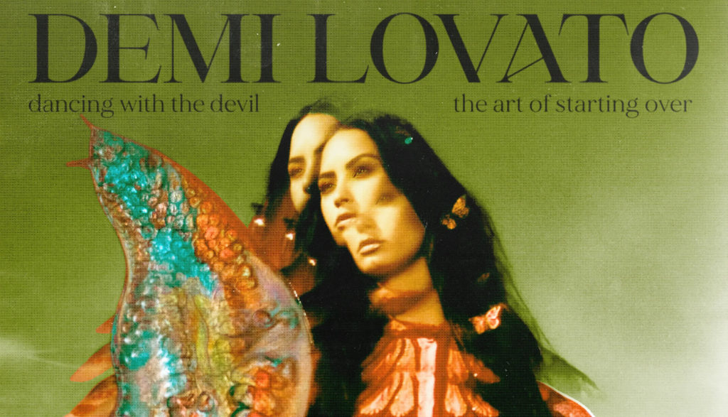 """Album cover for Demi Lovato's """"Dancing With the Devil ... The Art of Starting Over."""""""