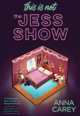 "Cover image of the book ""This Is Not the Jess Show."""