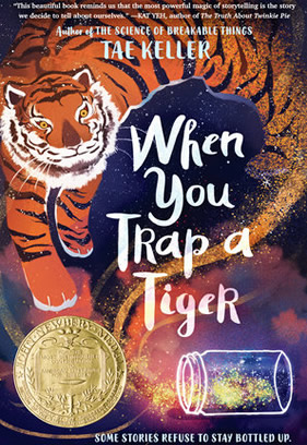 "Book cover image of the book ""When You Trap a Tiger."""