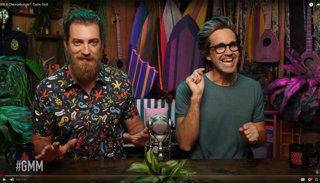 Good Mythical Morning youtube video