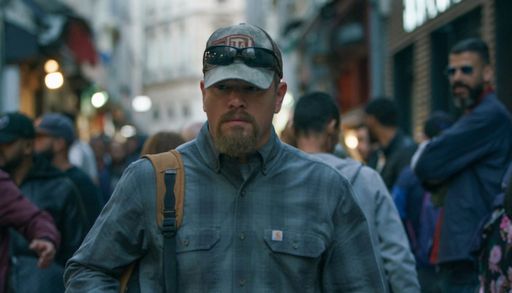 man walking down streets of Marseilles