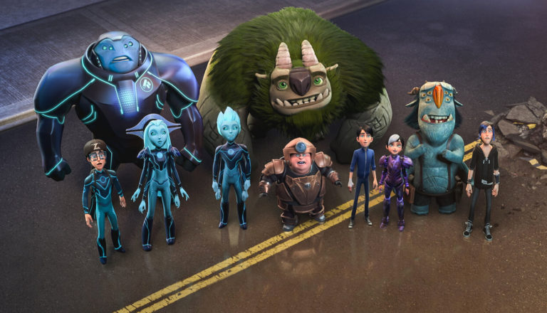 Trollhunters stand together