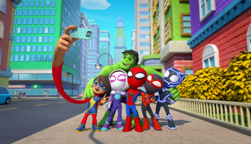 toddler superheroes