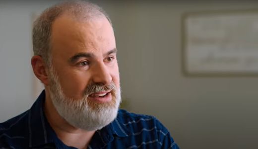 Filmmaker Alex Kendrick talks during the documentary on fatherhood, Show Me the Father